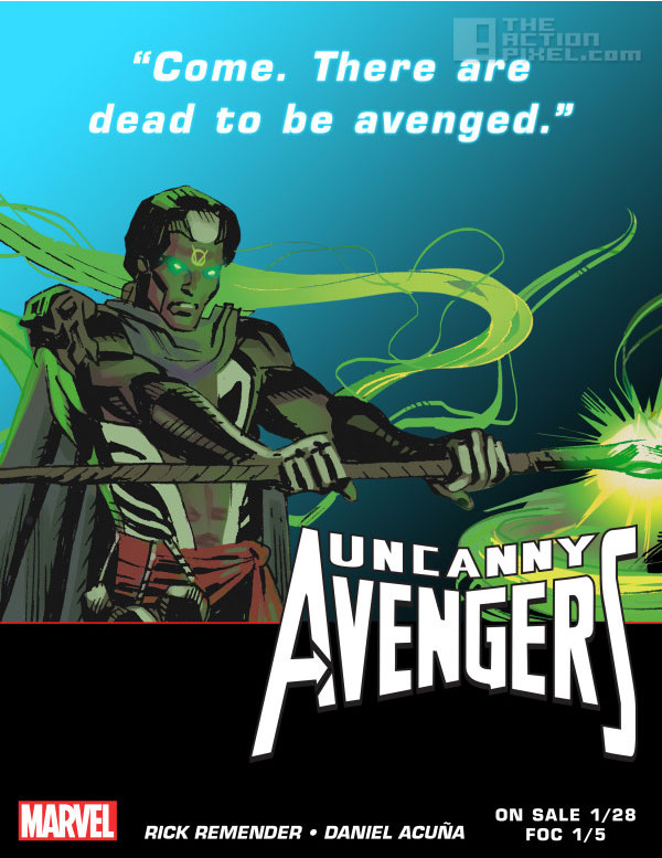 brother voodoo teaser. Uncanny Avengers. Marvel. The action pixel. @theactionpixel
