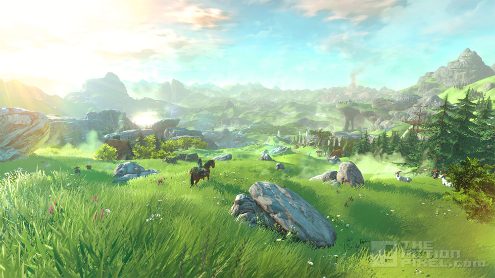Legend of Zelda game title for the Wii U. The Action Pixel. @TheActionPixel