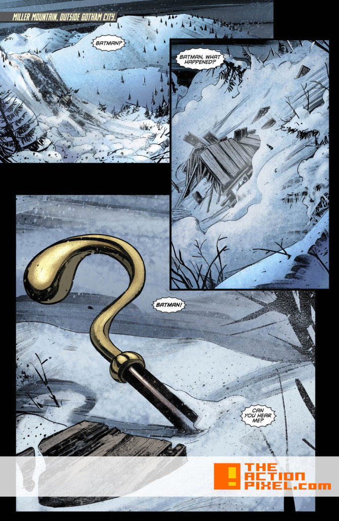 Dc Comics . Batman Eternal #40. The Action Pixel. @theactionpixel