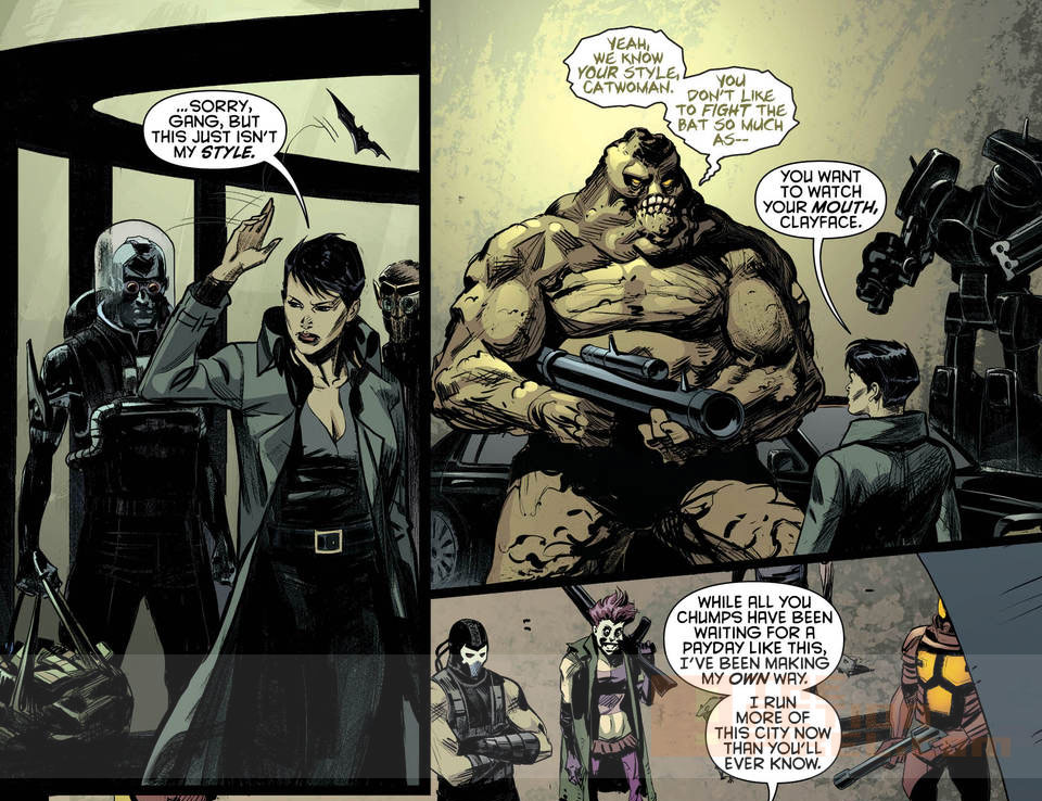 Batman Eternal #40. page 3  DC Comics. The Action Pixel. @theactionpixel