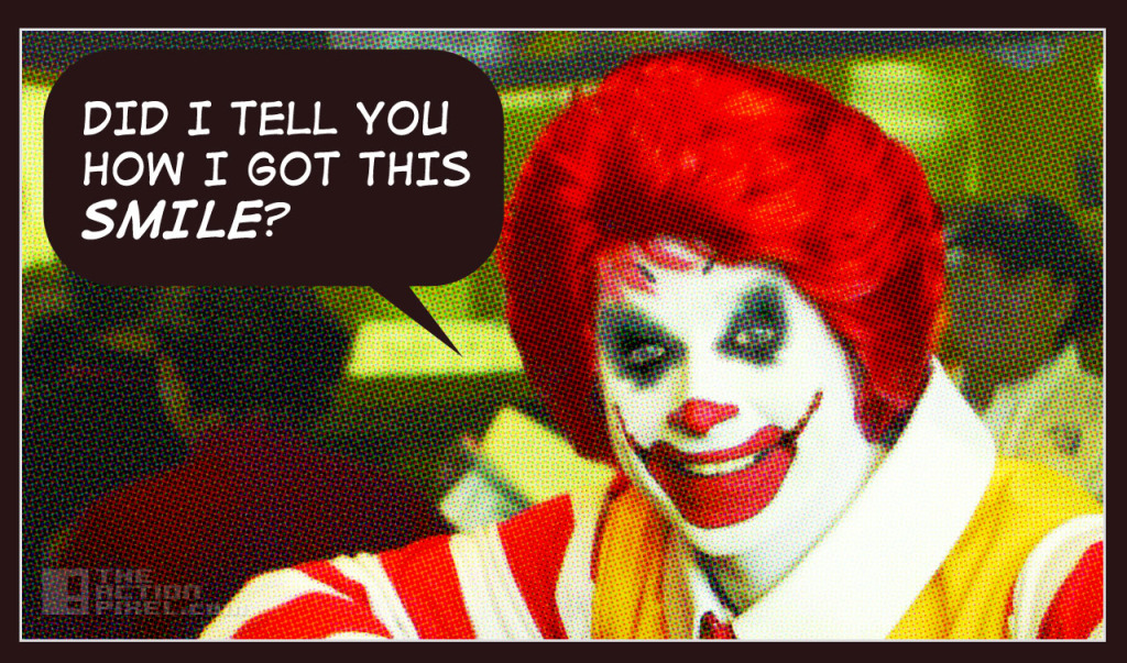 RONALD MCD JOKER. The Action Pixel. @theactionpixel