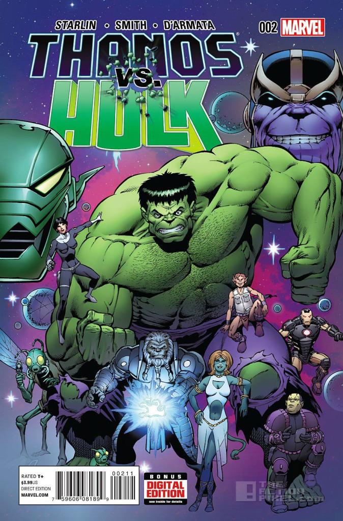 Thanos Vs Hulk Cover. The Action Pixel. @TheActionPixel