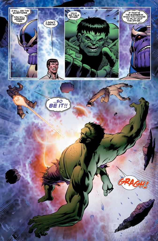 Thanos Vs Hulk Page 2. The Action Pixel. @TheActionPixel