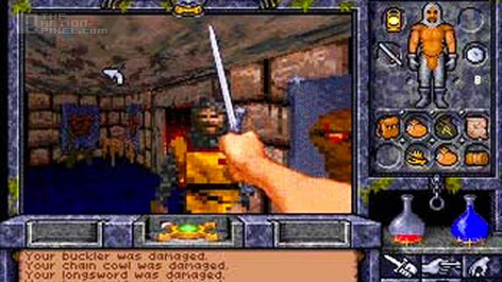 Ultima Underworld. The Action pixel. @theactionpixel