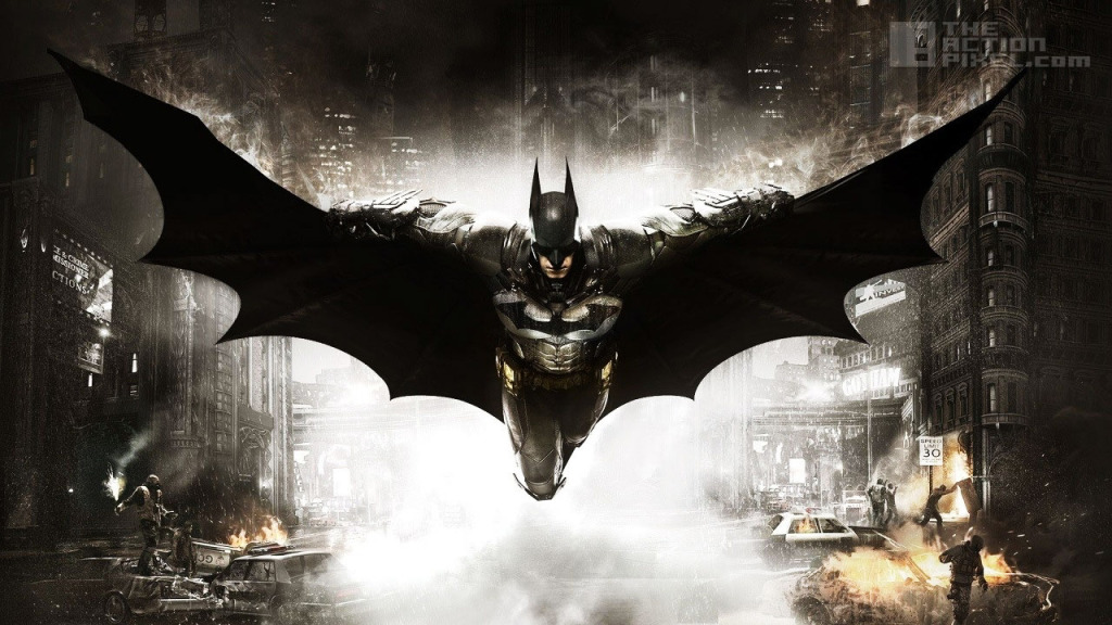 BATMAN arkham Knight. ROCKSTEADY, INTERACTIVE GAMES. THE ACTION PIXEL. @THEACTIONPIXEL