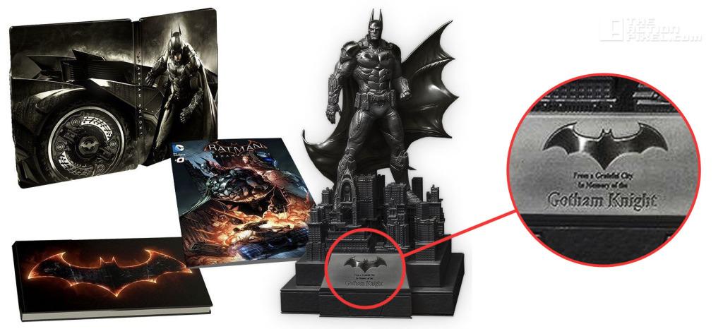 Batman arkham knight collectible. The ACTION PIXEL. @THEACTIONPIXEL