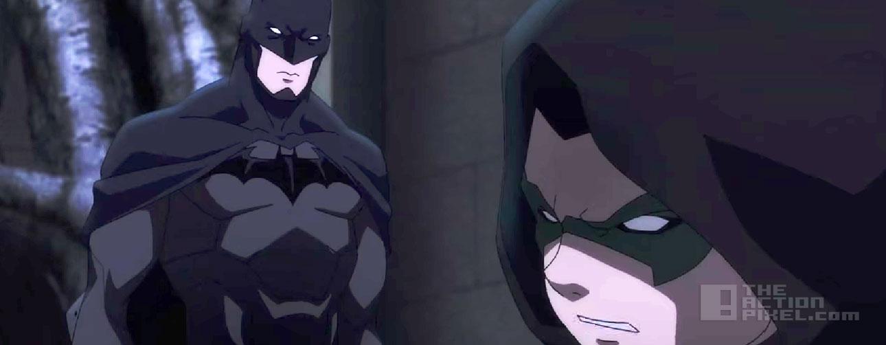 batman Vs Robin. Dc comics animation. The action pixel. @theactionpixel
