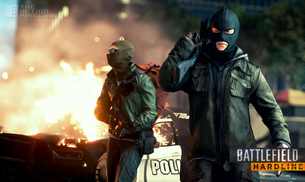 battlefield Hardline. The action pixel. @theactionpixel