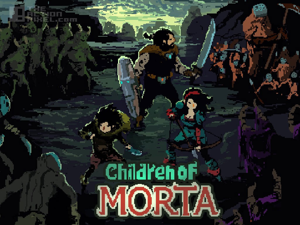 children Of Morta. Dead mage. The Action Pixel. @theactionpixel