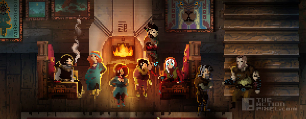 children of morta. Dead Mage. Berguson family. The Action Pixel. @theactionpixel