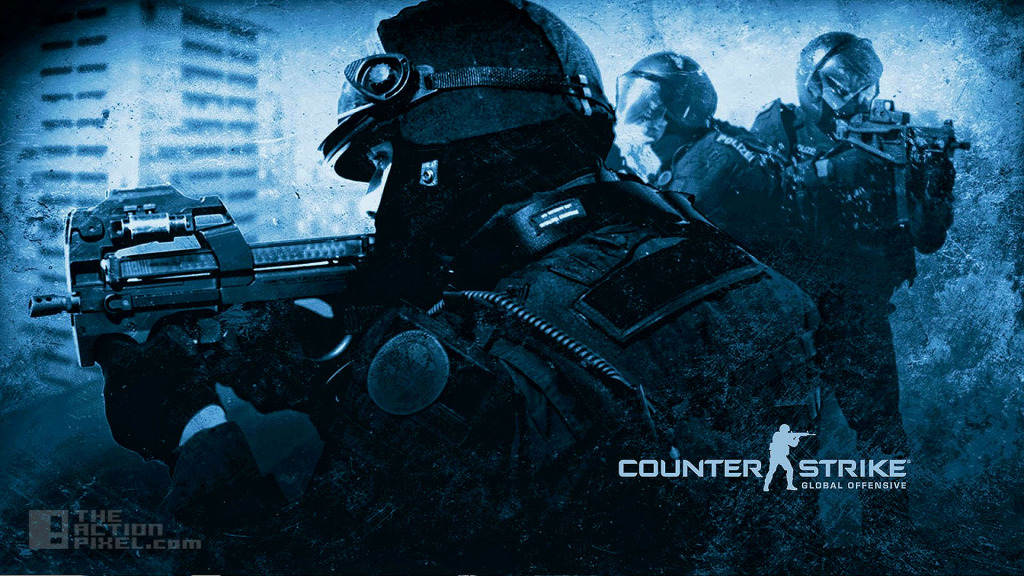 counter strike global offensive. The Action Pixel. @theactionpixel