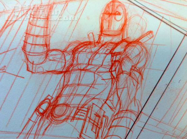 deadpool sketch via Mike Hawthorne. The Action Pixel @theactionpixel. Marvel