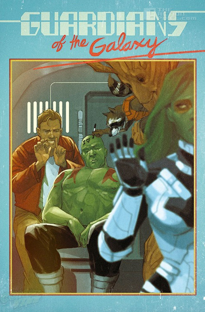 Guardians of the galaxy. Phil noto variant cover. The action Pixel. @theactionpixel