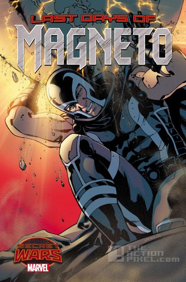 last days of magneto. marvel. secret wars. the action pixel. @theactionpixel
