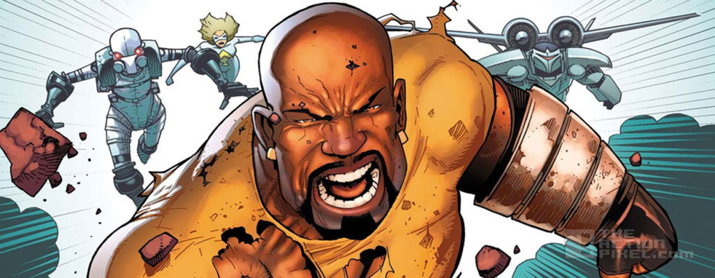 luke cage. Marvel. The action pixel. @theactionpixel