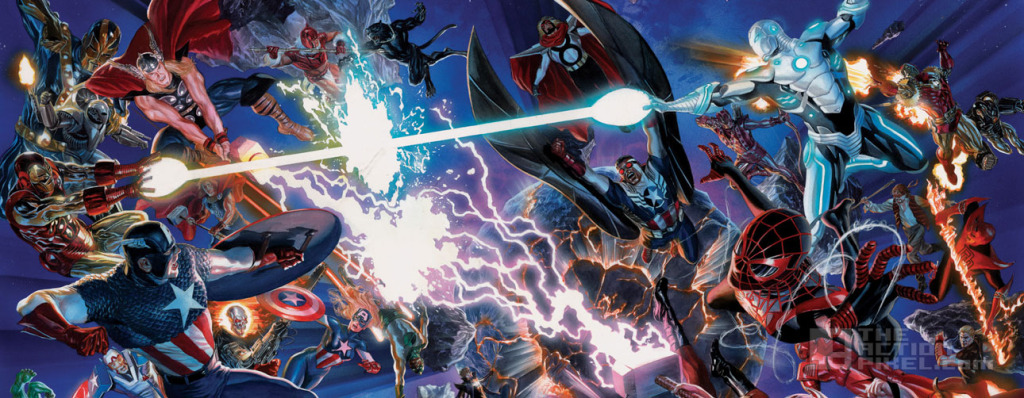 secret wars Banner. Marvel. The action pixel. @theactionpixel