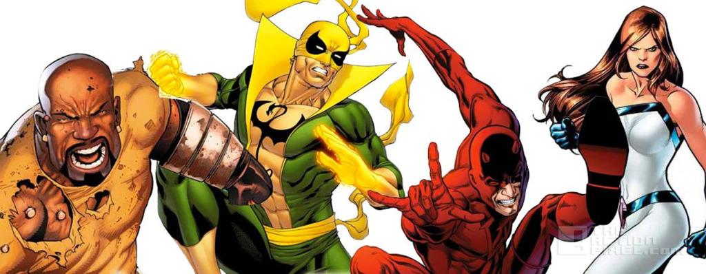 the defenders. Marvel. The Action pixel. @theactionpixel