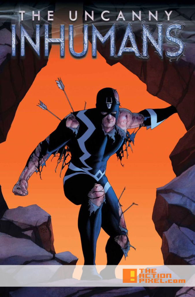 uncanny Inhumans Cover. The Action Pixel. @theactionpixel