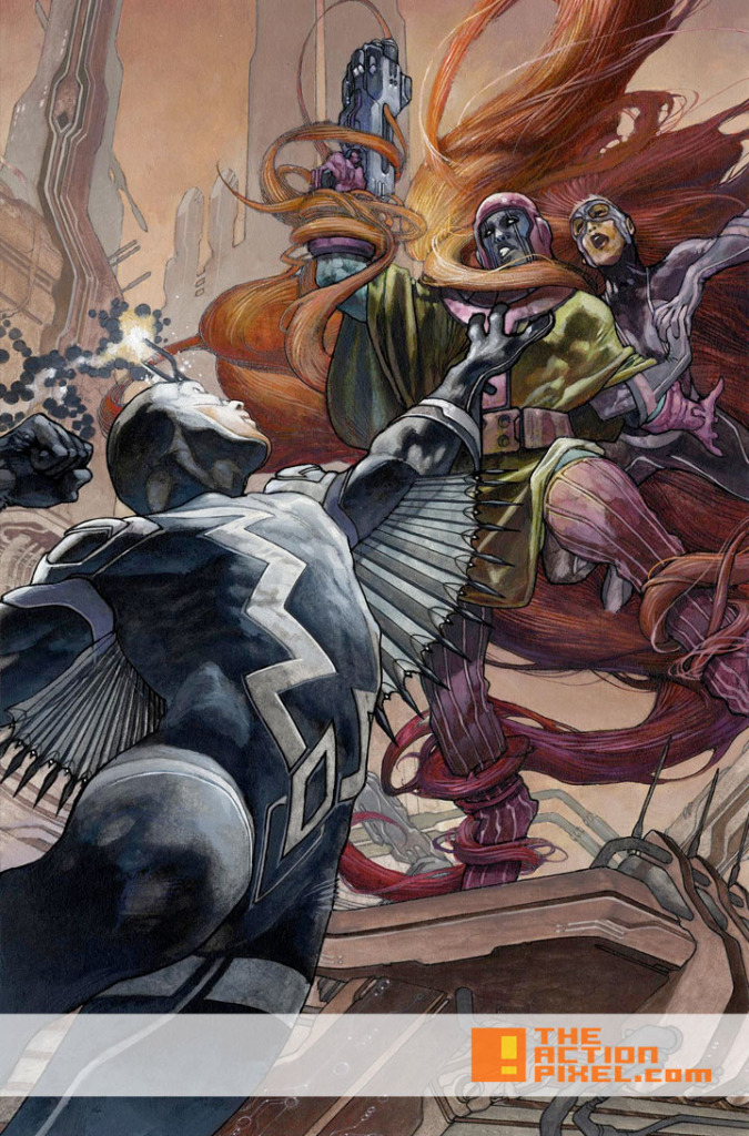 uncanny Inhumans Variant cover by Simone Bianchi. The Action pixel. @theactionpixel.
