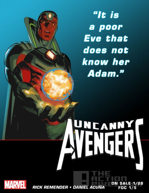 visio.n Uncanny Avengers. The action pixel. @theActionPixel