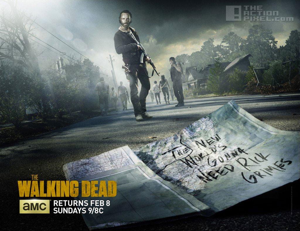the walking dead mid-season 5. the action pixel. @theactionpixel #entertainmentOnTAP