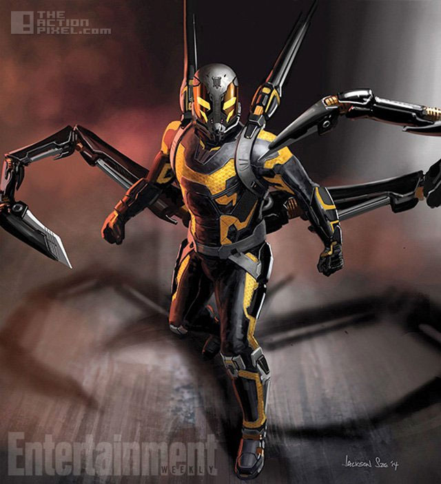 yellowjacket ant-man, paul rudd. Marvel. The action pixel. @theactionpixel
