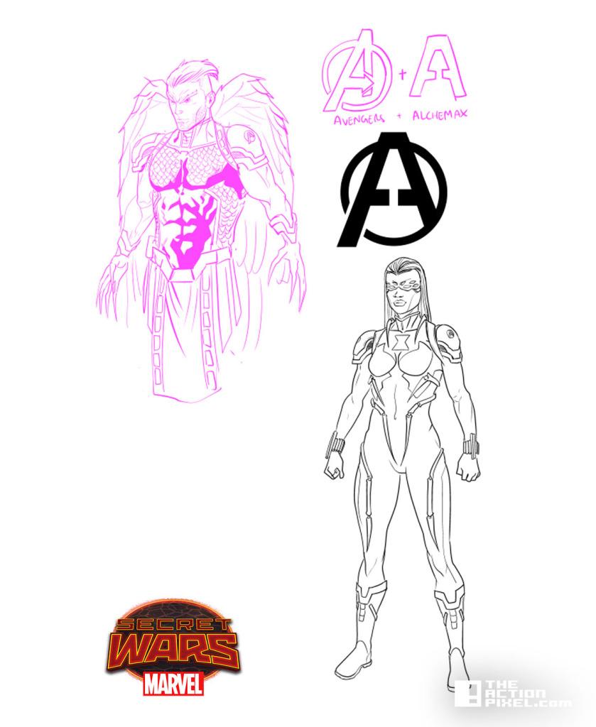 Secret wars 2099 Character Art. Will Sliney. The Action pixel. @theactionpixel
