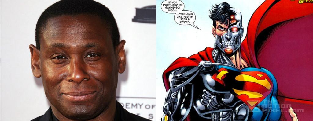 David Harewood is cyborg superman . supergirl. the action pixel. @theactionpixel