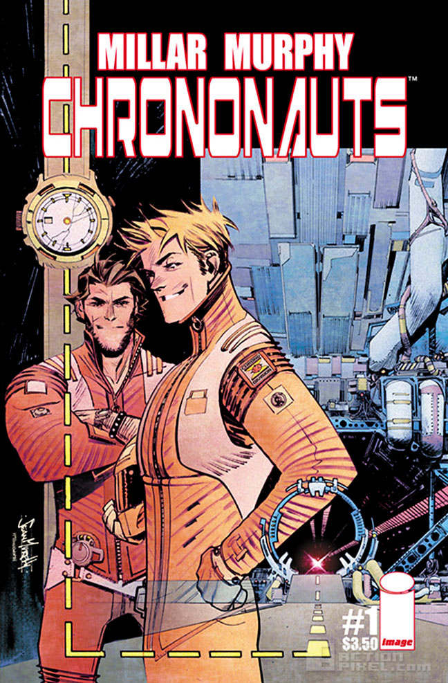 Chrononauts original cover by Sean Murphy. @theactionpixel the action pixel
