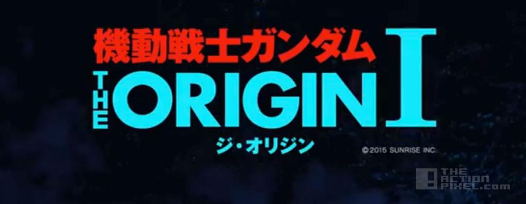 Mobile Suit Gundam the origin 1. The action pixel. @theactionpixel