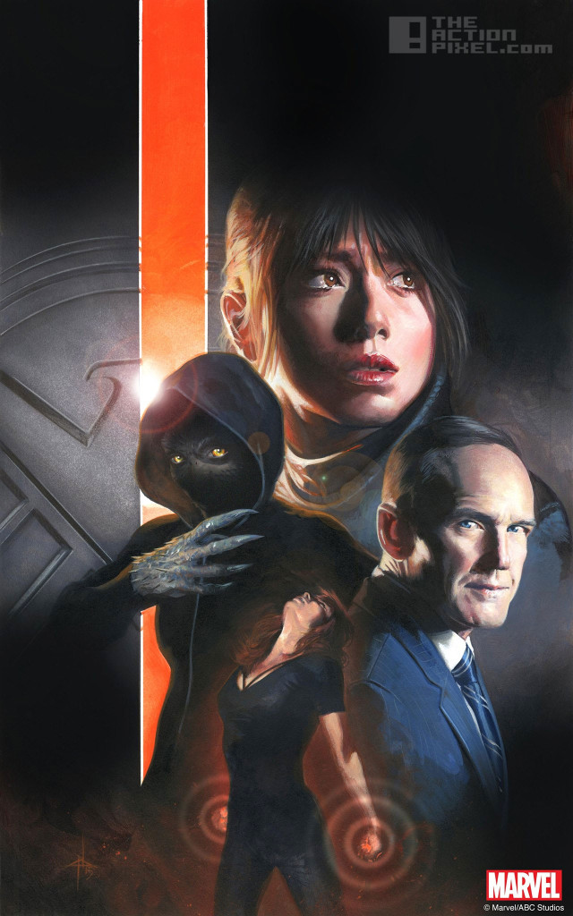 agents of SHIELD poster. the action pixel. @theactionpixel