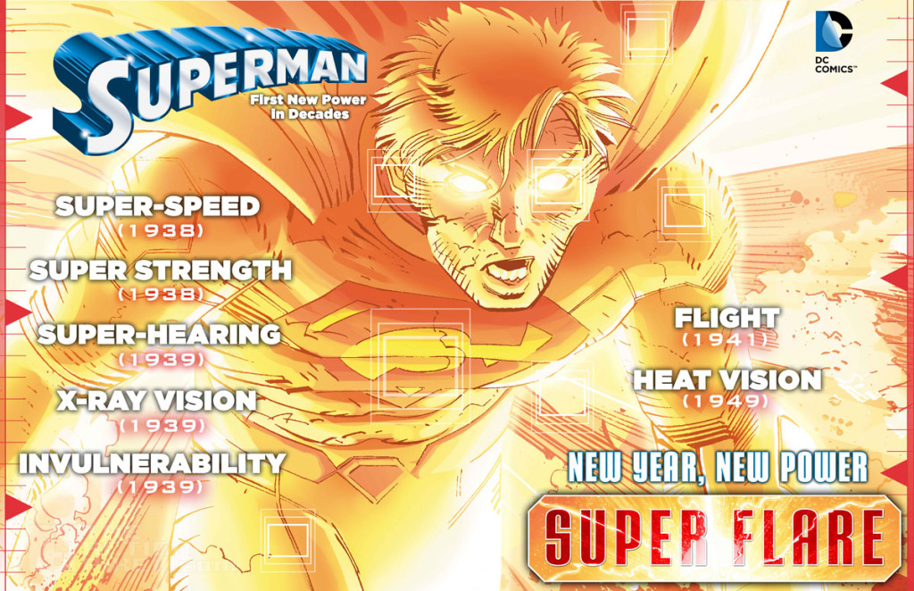 Superman SuperFlare infographic3. the action pixel. @theactionpixel