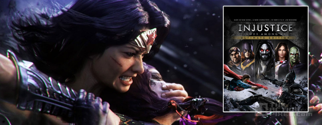 Wonder woman injustice. the action pixel @theactionpixel