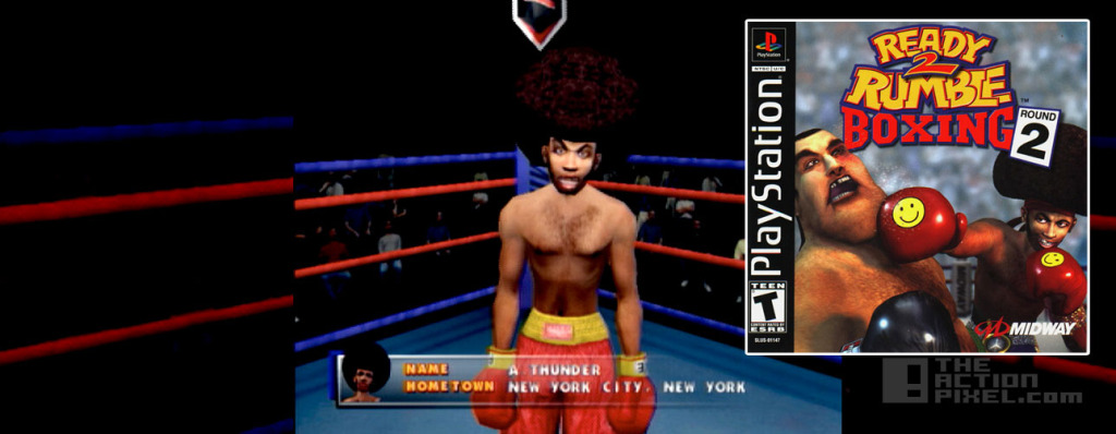 afrothunde -Ready To Rumble. the action pixel. @theactionpixel