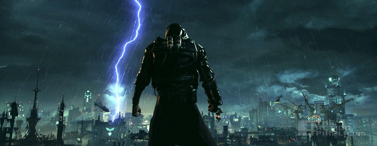 batman arkham knight gotham is mine. the action pixel. @theactionpixel