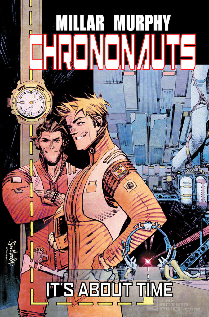chrononauts Banner. Image comics. the action pixel. @theactionpixel