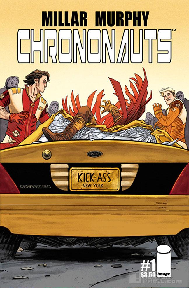 chrononauts cover art by declan Shalvey. the action pixel. @theactionpixel