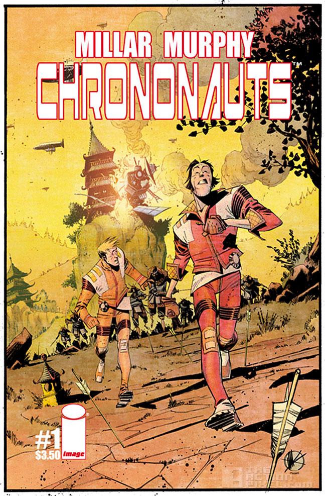 chrononauts cover by matteo scalera. the action pixel. @theactionpixel