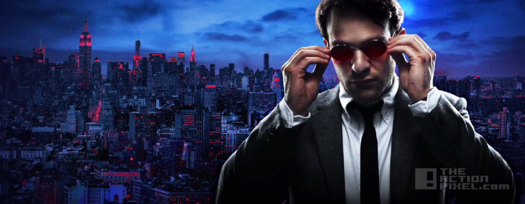 daredevil motion poster. netflix. marvel. the action pixel. @theactionpixel