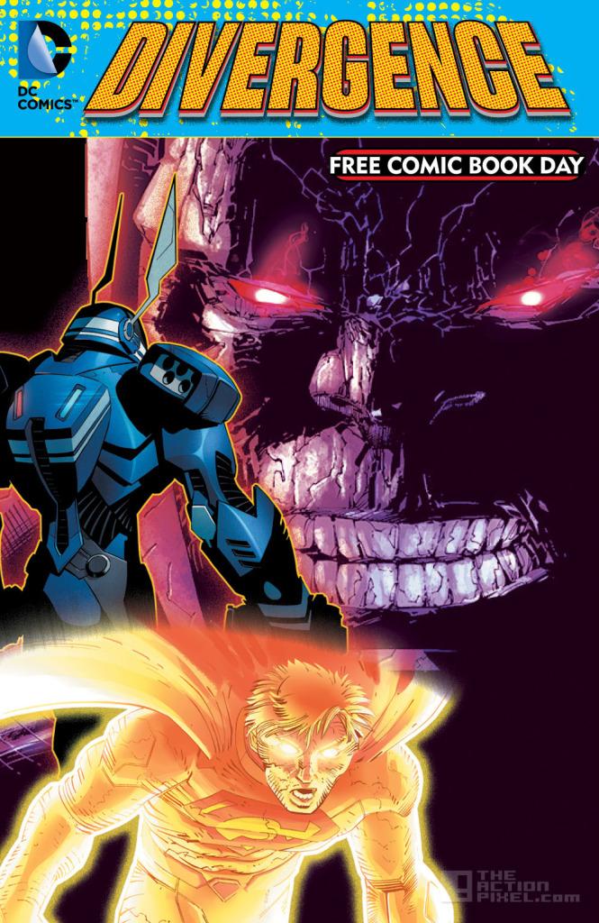 divergence. DC comics. the action pixel. @theactionpixel. dc comics