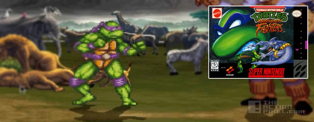 donatello TMNT Tournament Fighters. the action pixel. @theactionpixel