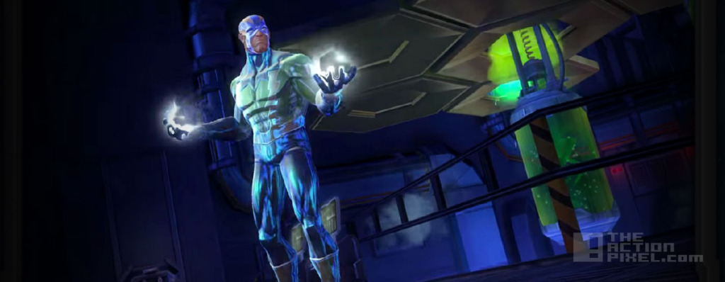 electro. Marvel contest of champions. the action pixel . @theactionpixel