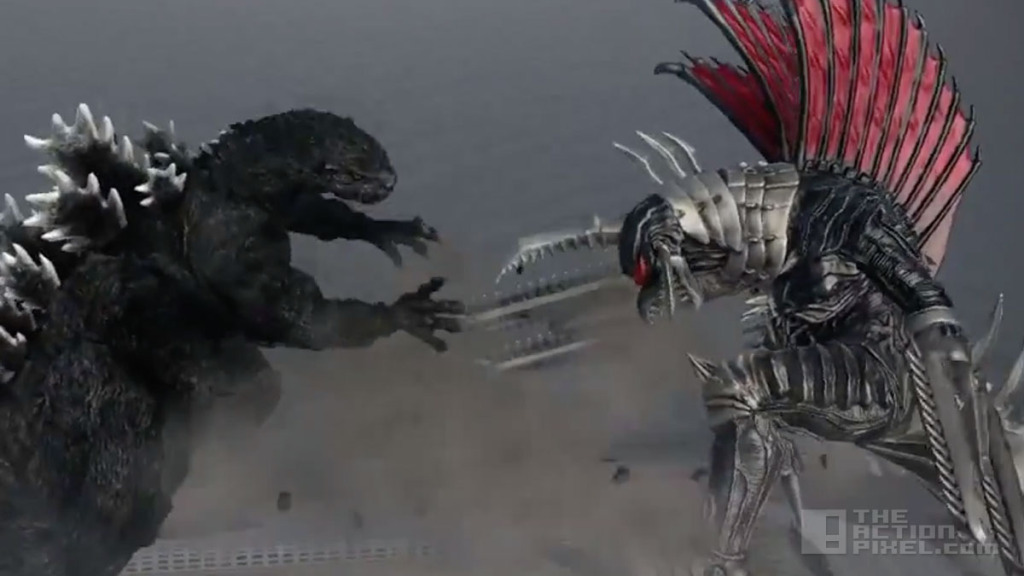 godzilla.  bandai namco games. the action pixel. @theactionpixel