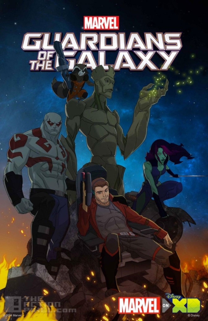 guardians of the galaxy. The action pixel. @theactionpixel