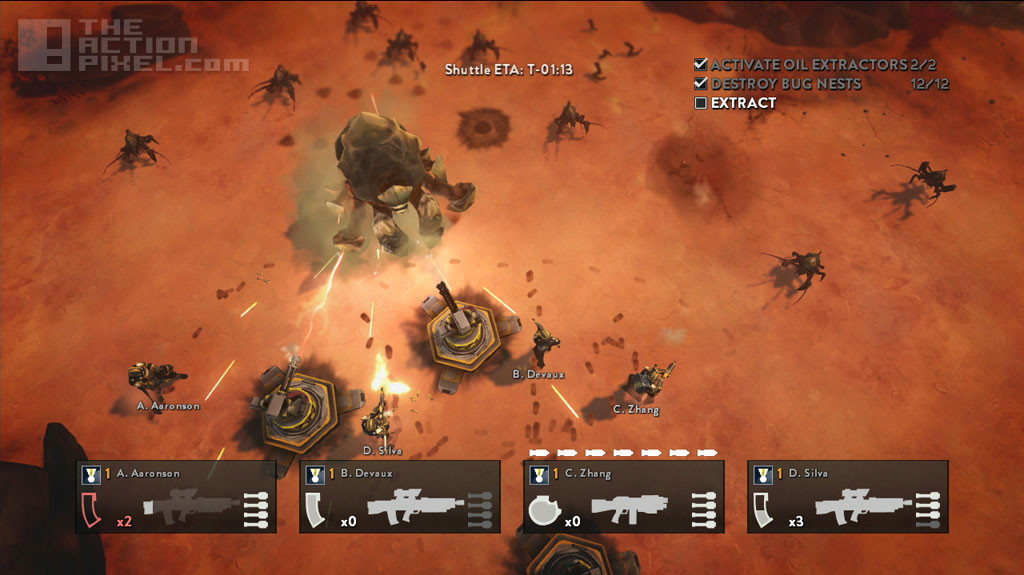 helldivers. arrowhead studio games. sony entertainment. the action pixel. @theactionpixel
