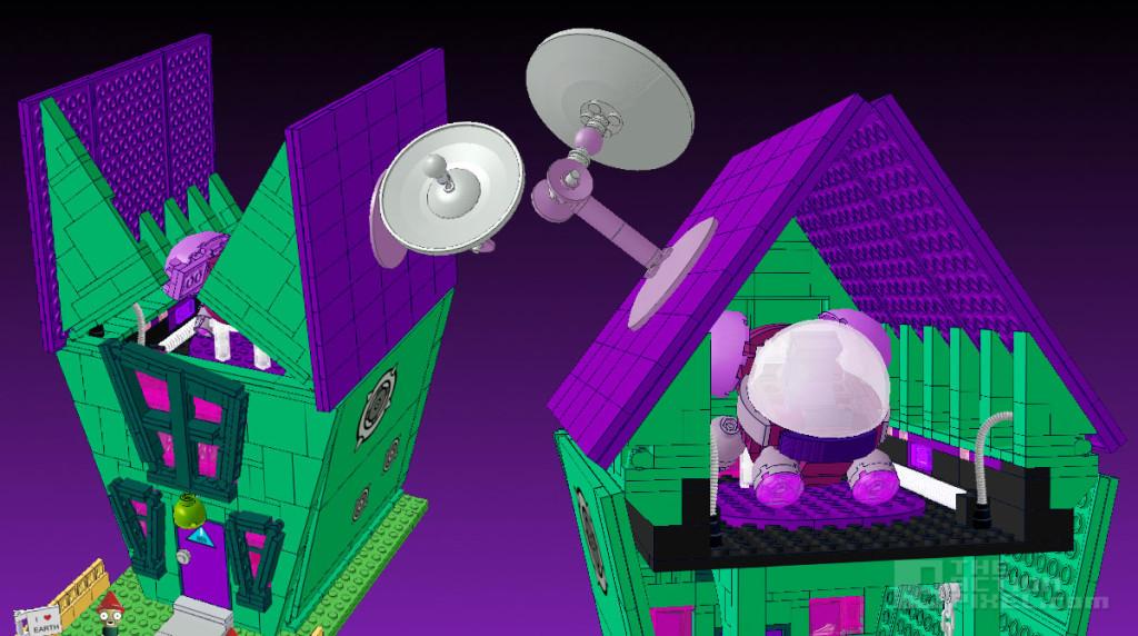 house Voot lego invader zim concept. the action pixel. @theactionpixel