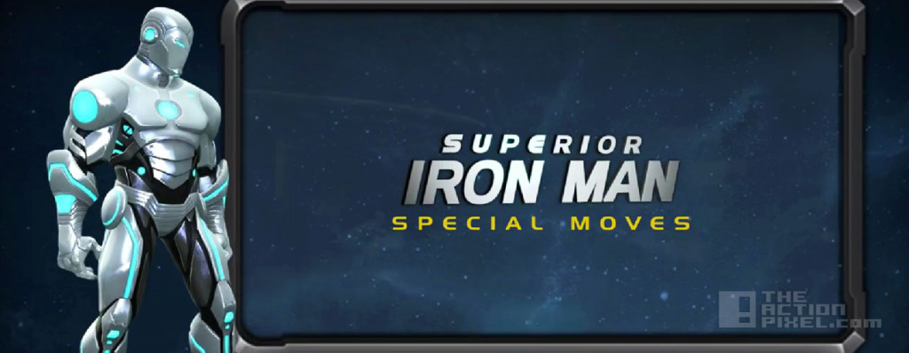 Superior iron man special moves Banner