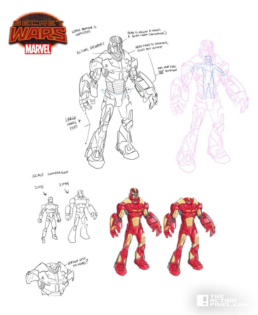 ironman design _ secret wars 2099. The action pixel. @theactionpixel