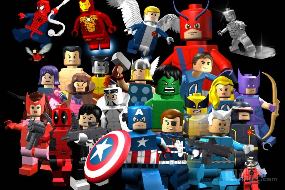 lego Avengers. the action pixel. @theactionpixel marvel