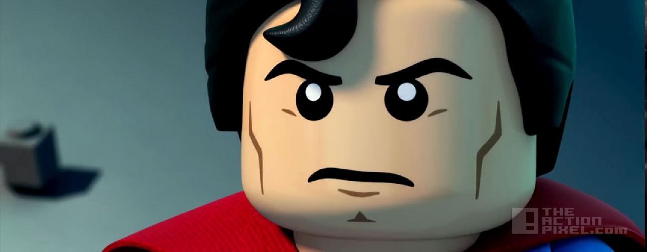 lego Superman. LEGO DC Super Heroes: Justice League vs. Bizarro League. the action pixel. @theactionpixel